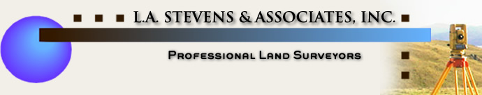 L.A. Stevens & Associates, Inc. | Marin-Sonoma-Bay Area Land Surveyor, Topographic-Boundary-Elevation Survey